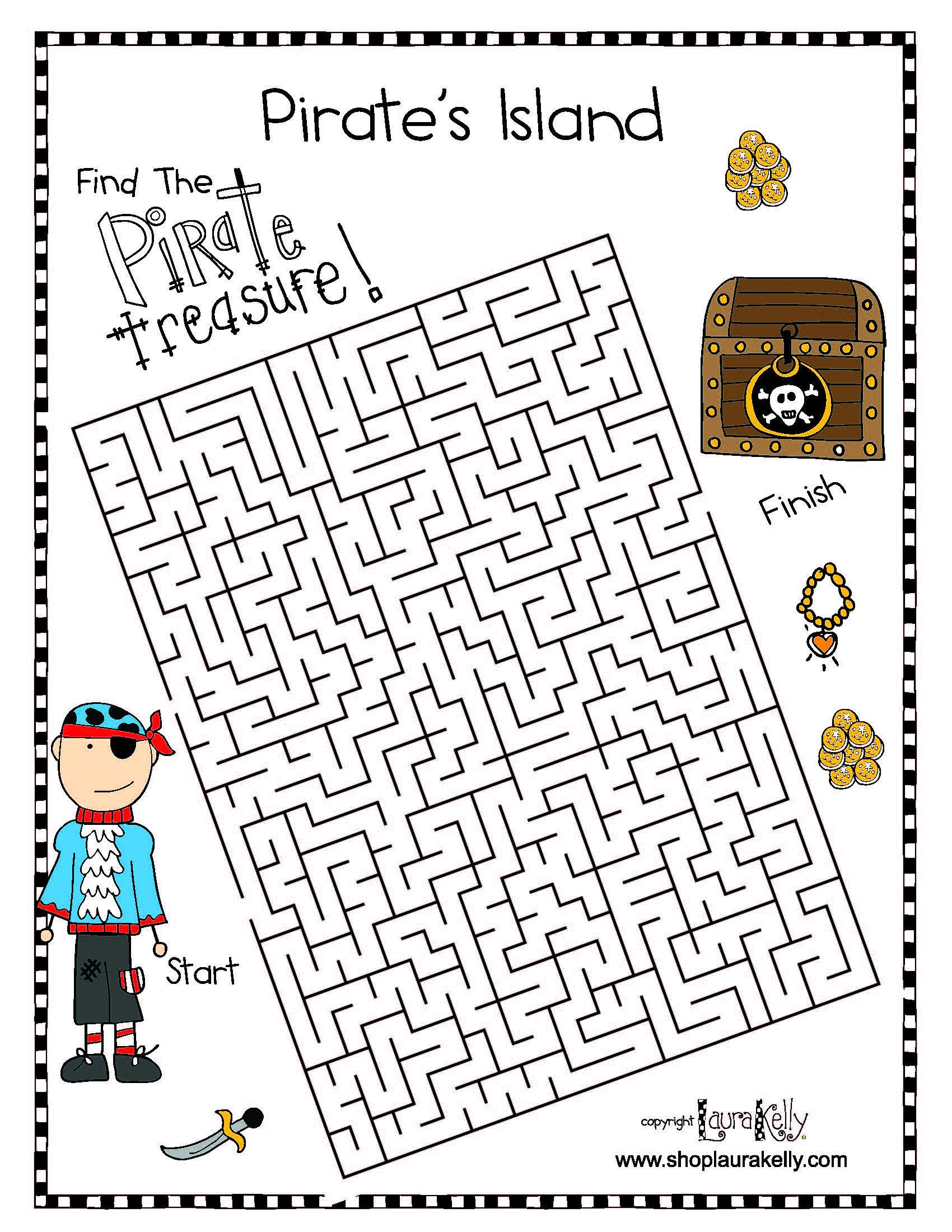 Pirate-Maze