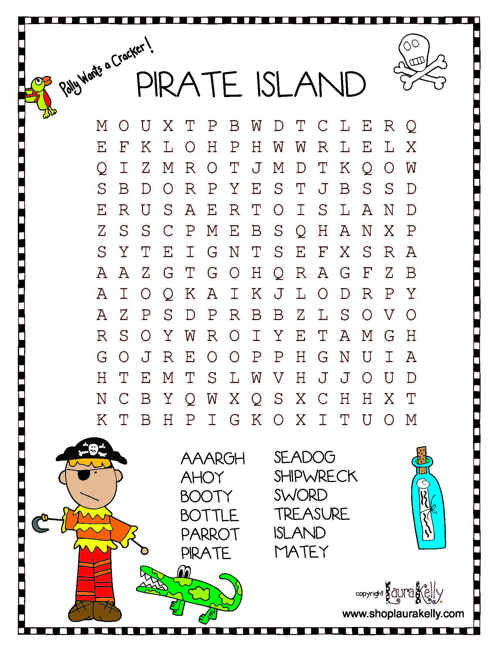 Pirate-Wordsearch