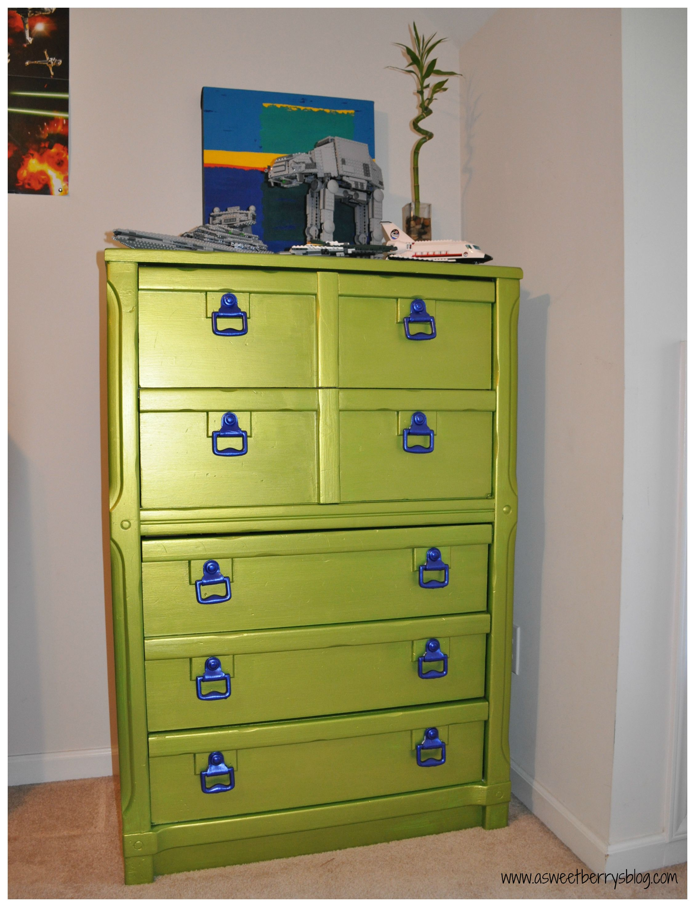 silver painted furniture. Dresser2 Silver Painted Furniture