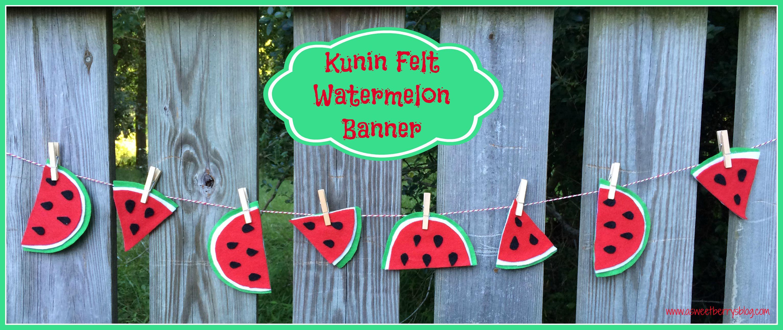 watermelon banner