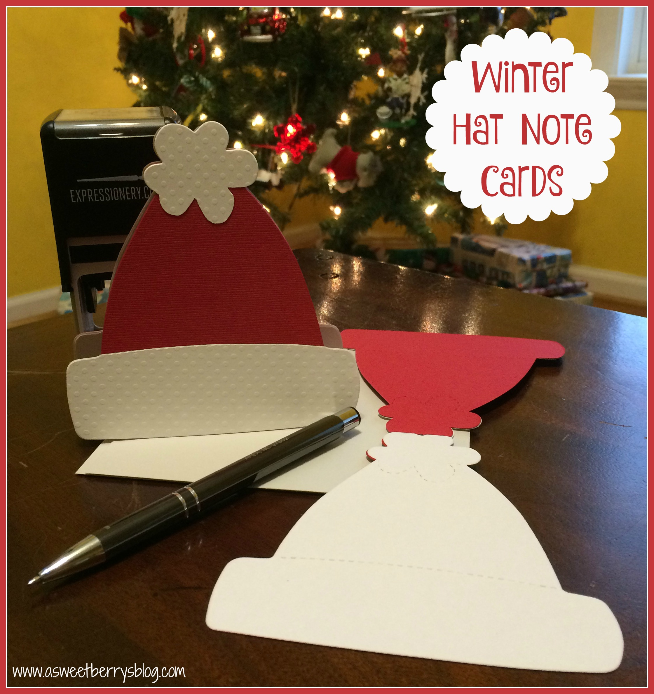 Winter Hat Note Cards
