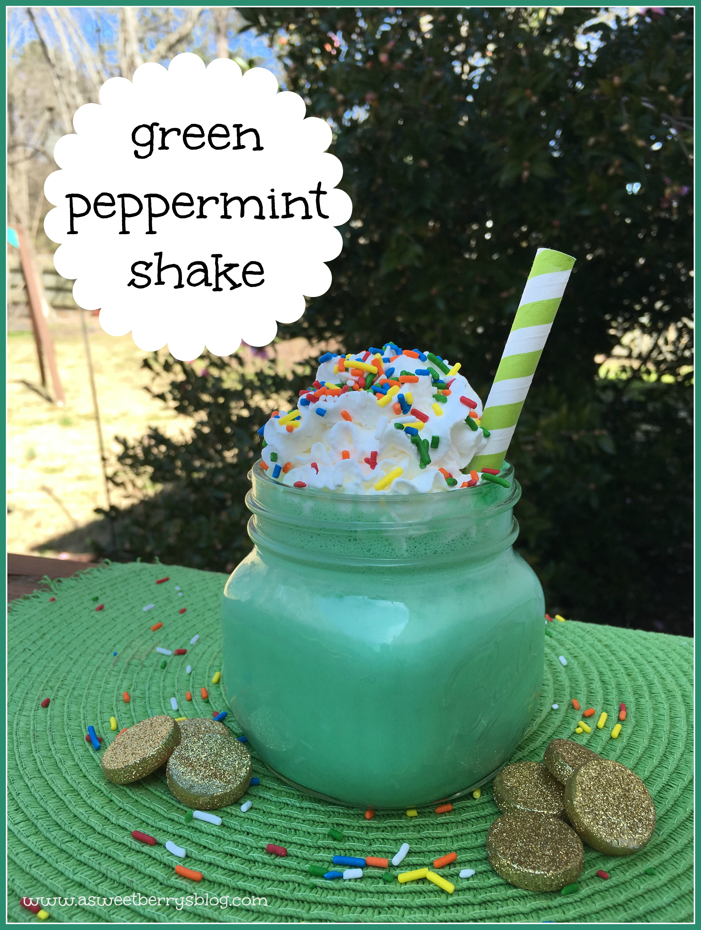 Green Peppermint Shake